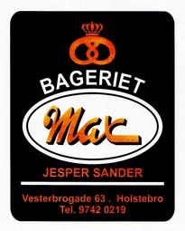 Bageriet Max sponsorer brød  til klubben