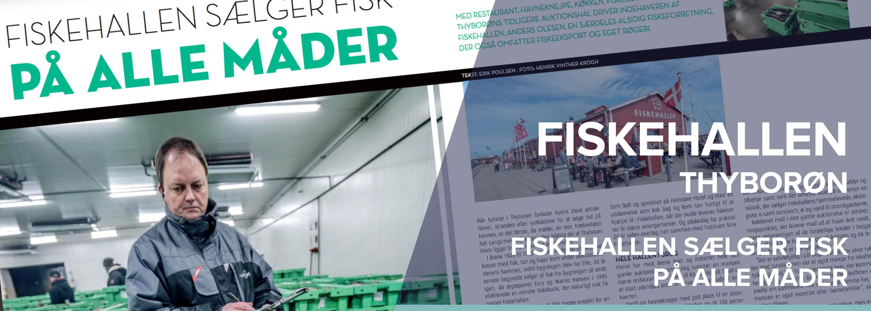Fiskehandler (Anders Olesen) - Historie
