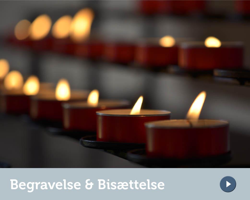 Sidebar - Begravelse & Bisættelse