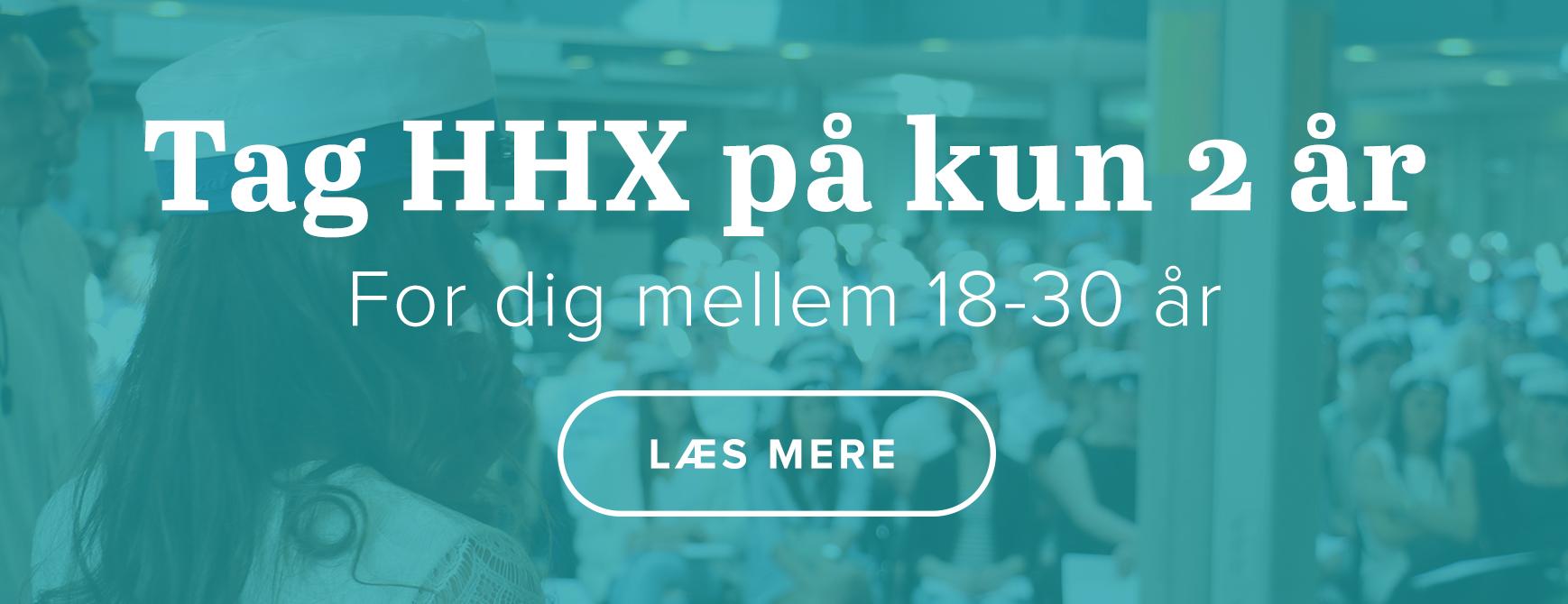 Tag HHX på kun 2 år