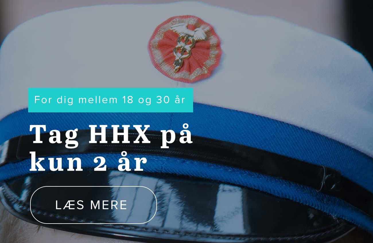 2-årig HHX uddannelse
