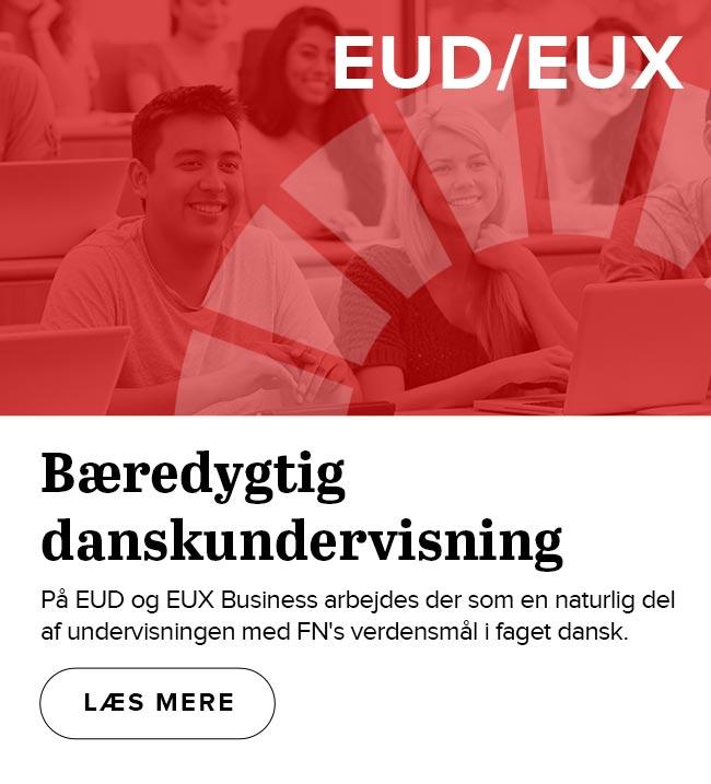 Verdensmål på skemaet i dansk