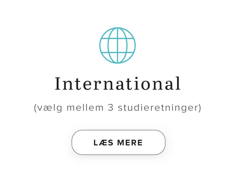 HHX studieretning - International