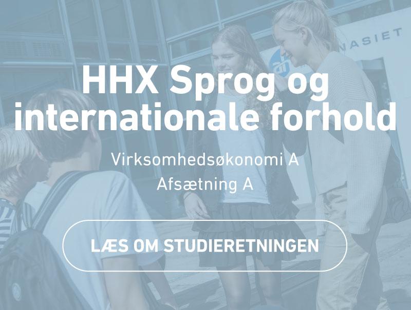 HHX Sprog og internationale forhold - studieretning