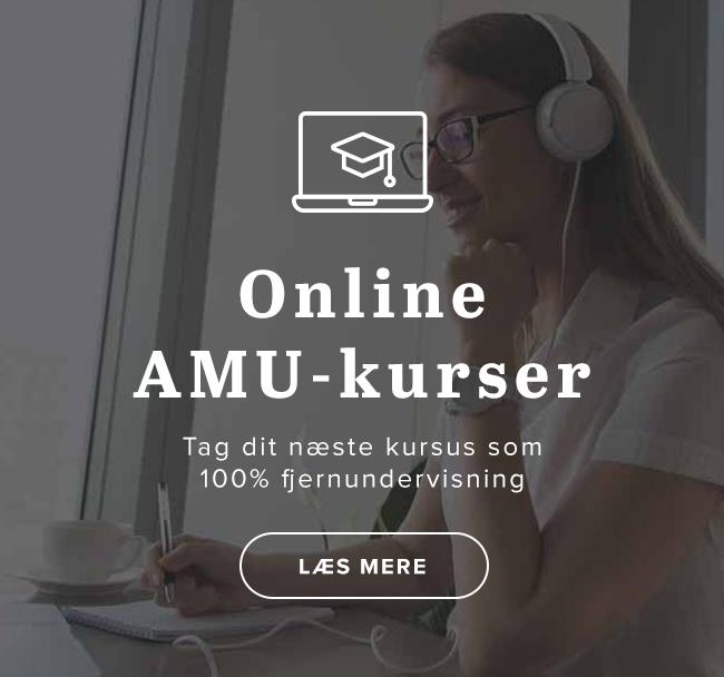 AMU Online - Fjernundervisning