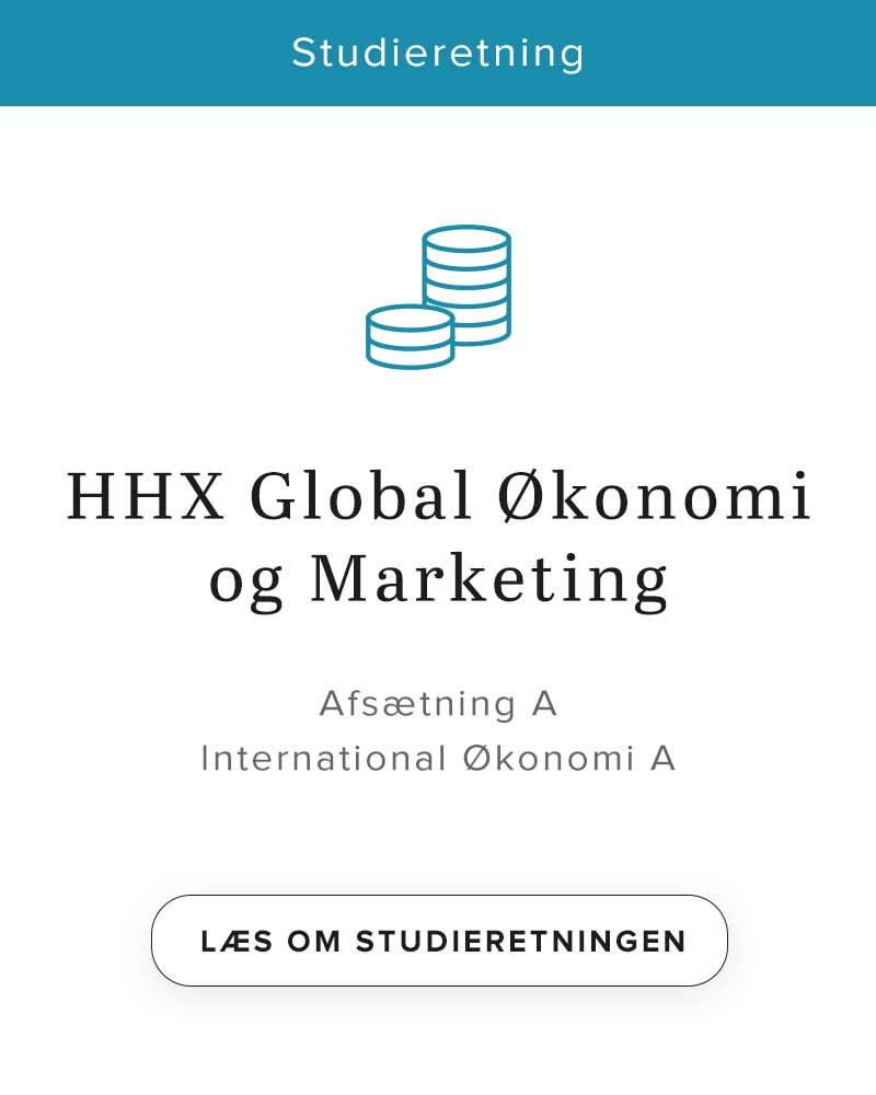 HHX Global økonomi og marketing - studieretning