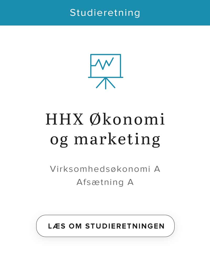 HHX økonomi og marketing - studieretning