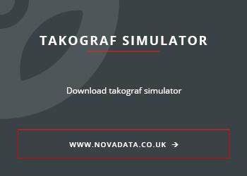 Takograf simulator